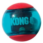 Kong squeez action rood (6,5X6,5X6,5 CM)