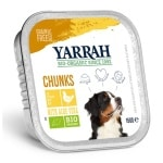 Yarrah dog alu brokjes kip / aloe vera in saus graanvrij (12X150 GR)