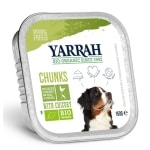 Yarrah dog alu brokjes kip / groente met cichorei in saus graanvrij (12X150 GR)