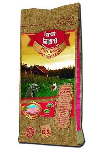 Farm nature turkey / chicken / rice