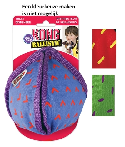 Kong ballistic hide 'n treat assorti