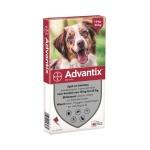 Bayer advantix spot on (250/1250 10-25 KG – 6 PIP)