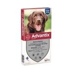 Bayer advantix spot on (400/2000 25+ KG – 4 PIP)