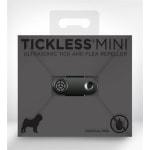 Tickless teek en vlo afweer voor kleine hond zwart