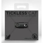 Tickless teek en vlo afweer voor kat zwart