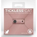 Tickless teek en vlo afweer voor kat rose gold