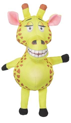 Safari giraf van stevig nylon geel