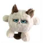 Grumpy cat kattenkop (20 CM)