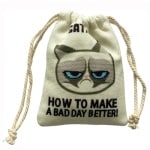 Grumpy catnip zak (5 CM)
