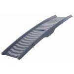 Trixie loopplank 3 voudig inklapbaar grijs (39 X 150 CM)