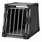 Trixie vervoersbox aluminium grafiet (M 74X55X61 CM)