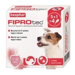 Beaphar fiprotec hond tegen teken en vlooien (2-10 KG 3+1 PIP)