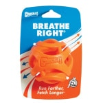 Chuckit breathe right fetch bal oranje (7 CM)