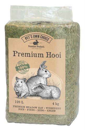 Pets own choice premium berghooi (4 KG)
