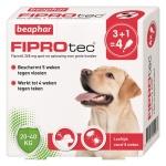 Beaphar fiprotec hond tegen teken en vlooien (20-40 KG 3+1 PIP)