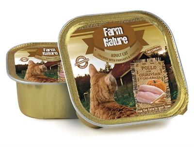 Farm nature chicken / parsnips / pumpkin (100 GR)