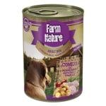 Farm nature rabbit / potatoes / apples / thyme (400 GR)