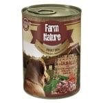 Farm nature wild boar / courgette / tomato / dill (400 GR)