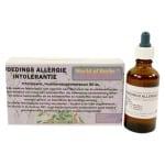 World of herbs fytotherapie voedingsallergie / intolerantie (50 ML)