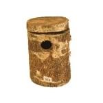 Broedblok berkenhout valkparkiet (22X21X32 CM)