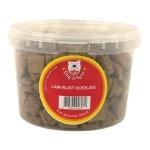 Dog treatz lam / rijst koekjes (1400 GR 3 LTR)