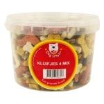 Dog treatz kluifjes 4 mix (1400 GR 3 LTR)
