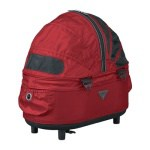 Airbuggy reismand hondenbuggy dome2 sm cot tango rood (53X31X52 CM)