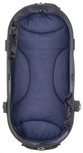 Airbuggy mat voor dome2 m denim blauw (65X31 CM)