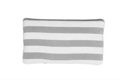 Airbuggy hoofdsteun kussen carriage streep grijs / wit (38X22,5 CM)
