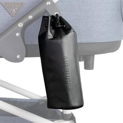 Airbuggy fleshouder logo zwart (25X15,5X3 CM)