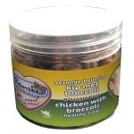 Renske kat gezonde beloning mini hartjes kip / broccoli (100 GR)