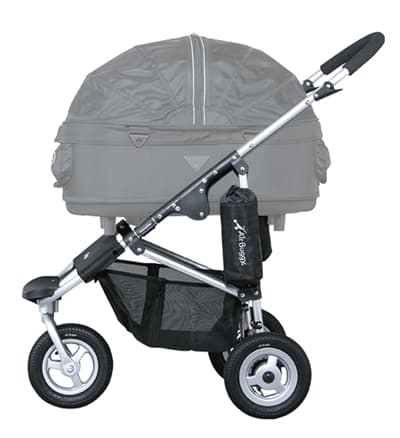 Airbuggy frame dome2 set zilver (MEDIUM)