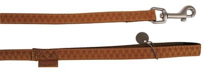 Macleather looplijn bruin (20 MMX120 CM)