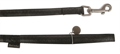 Macleather looplijn zwart (20 MMX120 CM)