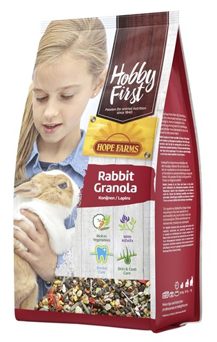 Hobbyfirst hopefarms rabbit granola (800 GR)