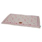 Lief! benchkussen girls beige / roze (88X55 CM)