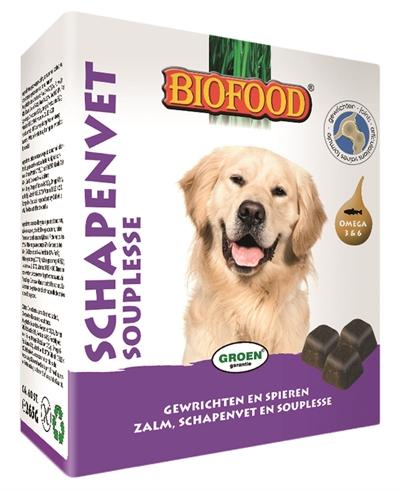 Biofood schapenvet maxi bonbons souplesse