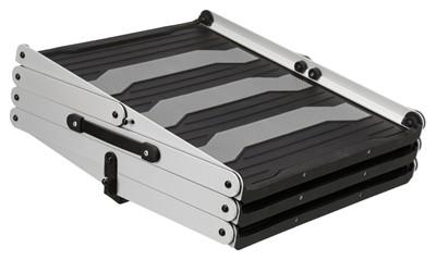 Trixie petwalk vouwtrap aluminium (120X37X57 CM)