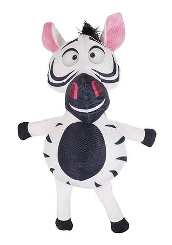 Safari zebra van stevig nylon zwart/wit