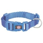 Trixie halsband hond premium royal blauw (25-40X1,5 CM)
