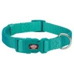 Trixie halsband hond premium oceaan blauw (25-40X1,5 CM)