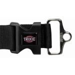 Trixie halsband hond premium bosgroen (25-40X1,5 CM)