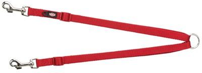 Trixie hondenriem premium koppellijn rood (40-70X1,5 CM)