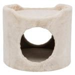 Trixie knaagdierhuis tower pluche beige (34X34X30 CM)