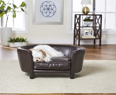 Enchanted hondenmand / sofa coco pebble bruin