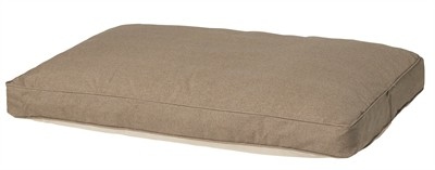Woefwoef hondenkussen lounge oxford outdoor velvet taupe