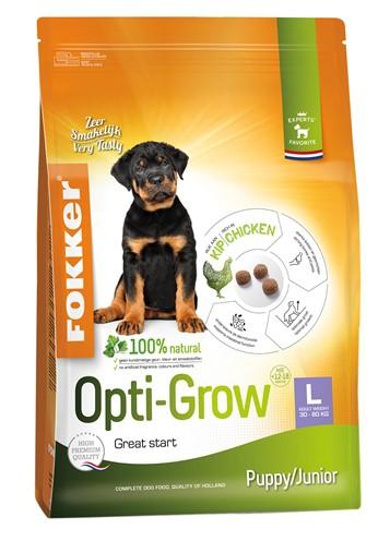 Fokker opti-grow puppy / junior large (13 KG)
