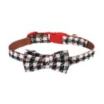 Croci halsband hond bordeaux braid (25X1 CM)