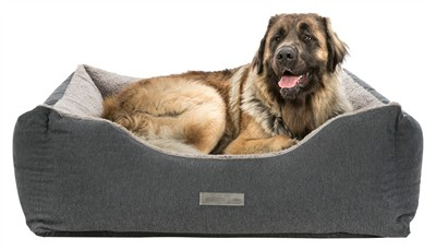 Trixie hondenmand bendson vitaal donkergrijs / lichtgrijs