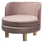 Trixie hondenmand sofa livia roze (48X48X40 CM)